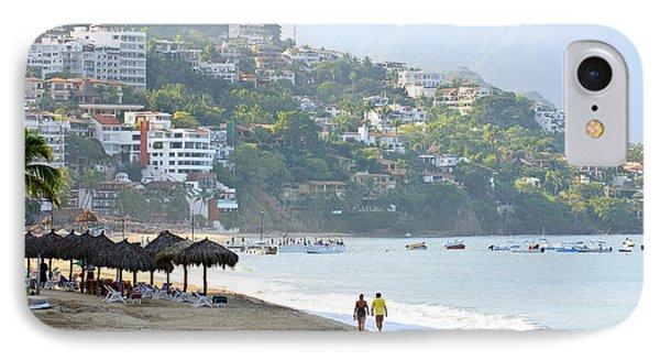Puerto Vallarta Beach IPhone Case by Elena Elisseeva