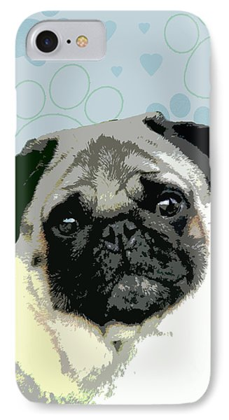 Pug Phone Case by One Rude Dawg Orcutt