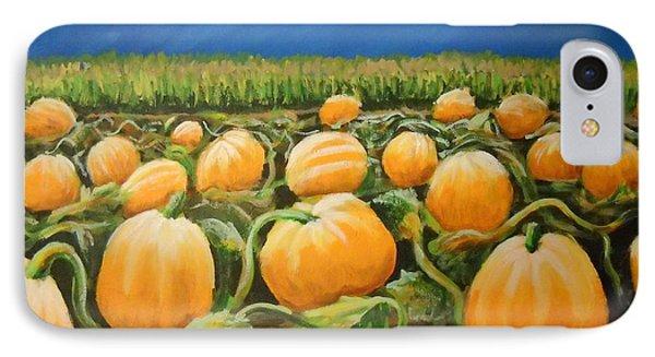 Pumpkin Patch IPhone Case