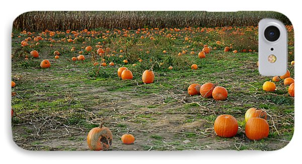 Pumpkin Patch Phone Case by LeeAnn McLaneGoetz McLaneGoetzStudioLLCcom
