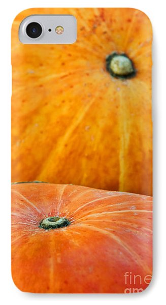 Pumpkins Background Phone Case by Carlos Caetano