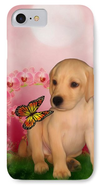 Puppy Innocence Phone Case by Smilin Eyes  Treasures