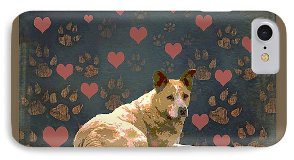 Puppy Love Phone Case by One Rude Dawg Orcutt
