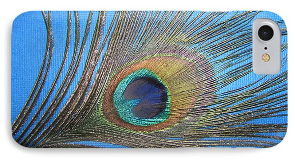 Purdy As A Peacock Phone Case by Kathy Clark