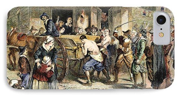 Puritans: Punishment, 1670s Phone Case by Granger