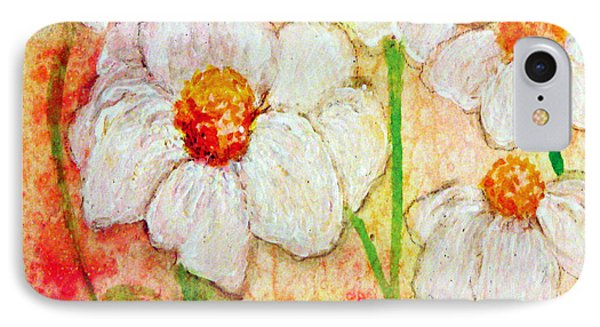 Purity Of White Flowers Phone Case by Ashleigh Dyan Bayer