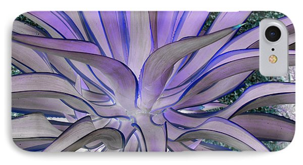 Purple Aloe IPhone Case by Rebecca Margraf