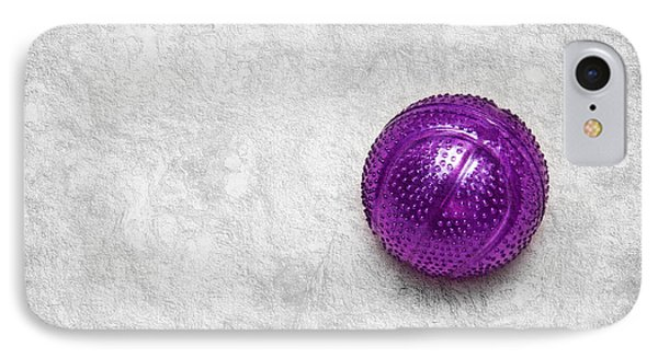 Purple Ball Cat Toy Phone Case by Andee Design