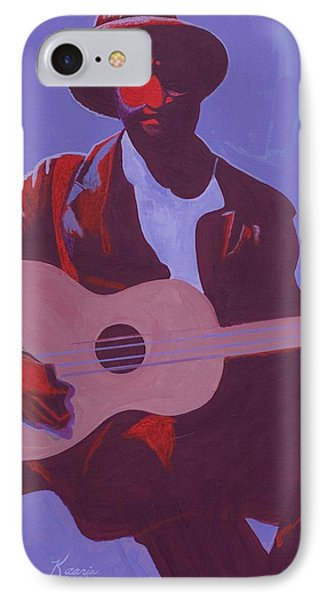 Purple Blues Phone Case by Kaaria Mucherera