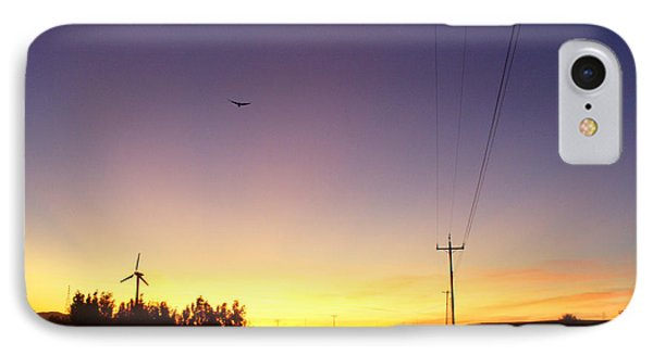Purple Evening On The Island IPhone Case