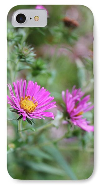 IPhone Case featuring the photograph Purple Flower by Laurinda Bowling