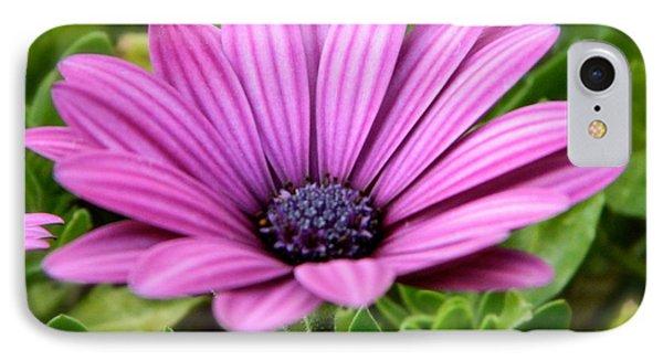 Purple Flower Phone Case by Sara  Mayer