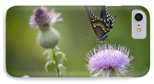 IPhone Case featuring the photograph Purple Majesty by Nava Thompson