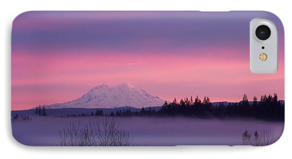 IPhone Case featuring the photograph Purple Mountain Majesty by Chalet Roome-Rigdon