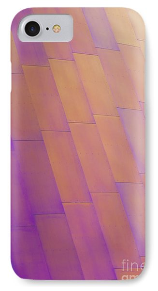 Purple Orange Two Phone Case by Chris Dutton