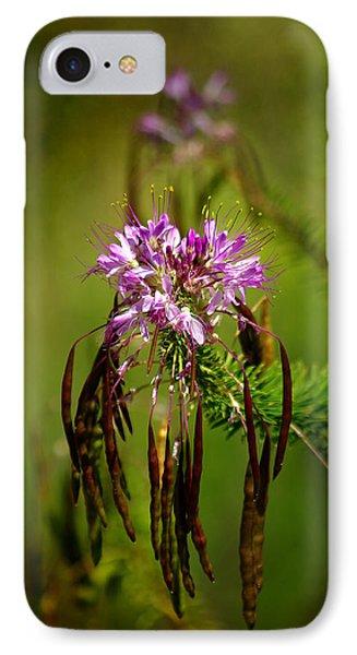 IPhone Case featuring the photograph Purple Pizzazz by Vicki Pelham