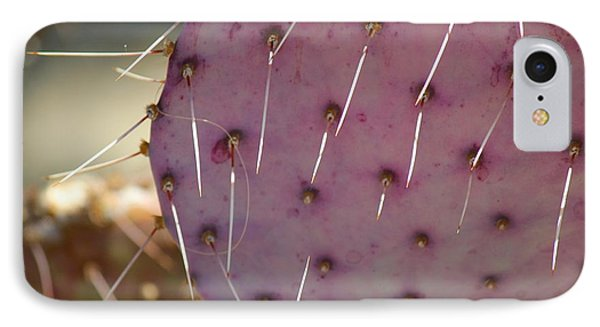 Purple Prickly Pear IPhone Case