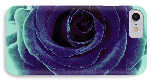 IPhone Case featuring the photograph Purple Rose by Jasna Gopic