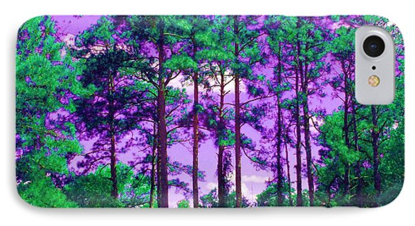 IPhone Case featuring the photograph Purple Sky by George Pedro