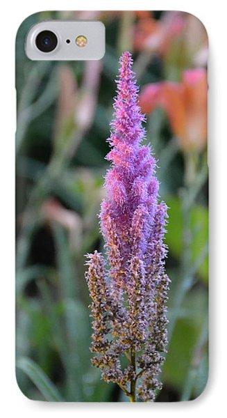 Purple Spear IPhone Case by Bonnie Myszka