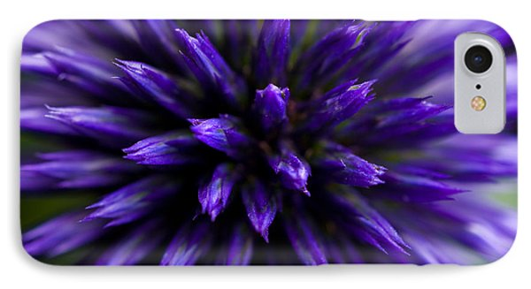 IPhone Case featuring the photograph Purple Zoom by Trevor Chriss
