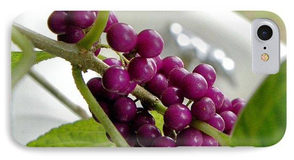 Purples And Greens Phone Case by Tisha  Clinkenbeard