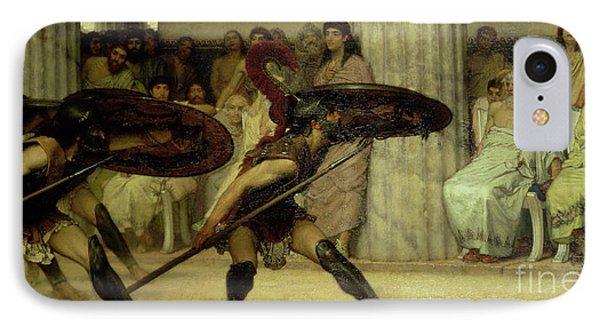 Pyrrhic Dance Phone Case by Sir Lawrence Alma-Tadema