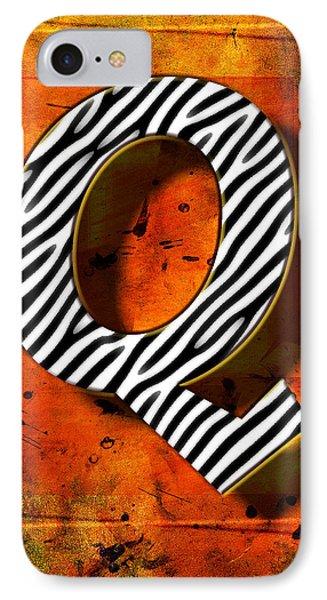 Q IPhone Case by Mauro Celotti