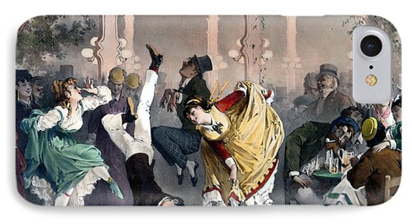 Quadrille At The Bal Bullier IPhone Case by G Barry