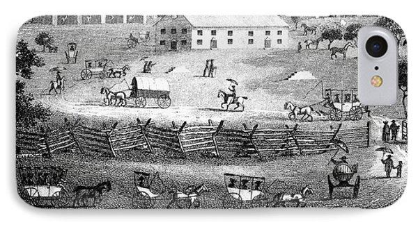 Quaker Meeting, 1811 Phone Case by Granger