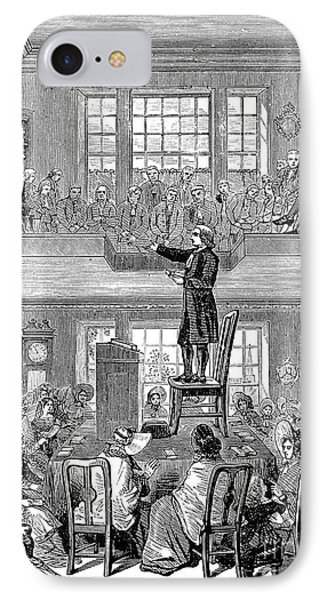 Quaker Meeting House Phone Case by Granger