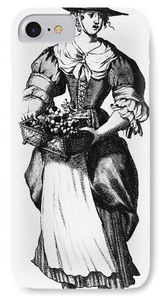 Quaker Woman, 17th Century Phone Case by Granger