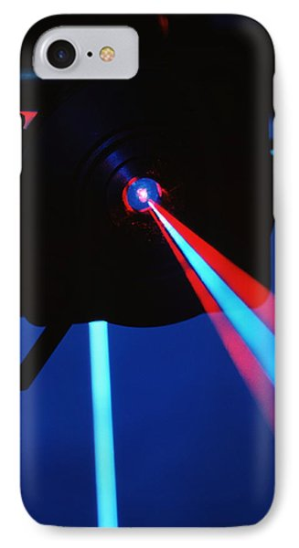 Quantum Entanglement Apparatus Phone Case by Volker Steger