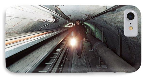 Quantum Entanglement Tunnel Phone Case by Volker Steger