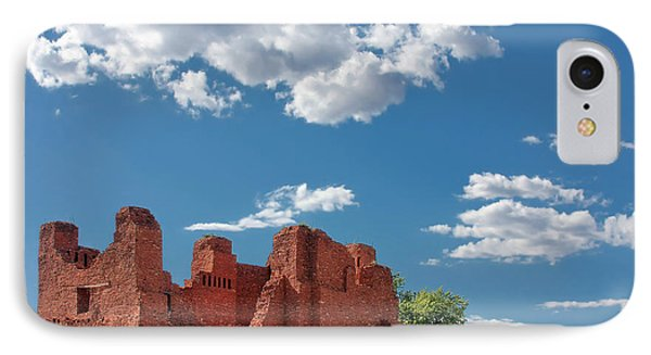 Quarai Ruins At Salinas Pueblo Missions National Monument Phone Case by Christine Till