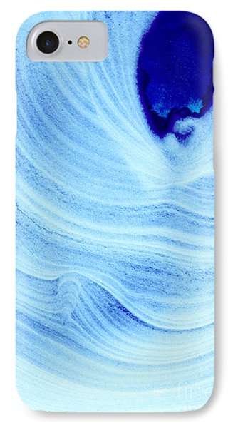 Query Blue Phone Case by Jamie Lynn