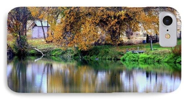 Quiet Autumn Day Phone Case by Carol Groenen