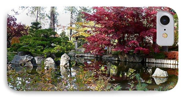 Quiet Autumn Pond Phone Case by Carol Groenen