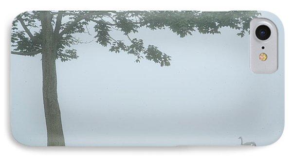Quiet Fog Rolling In Phone Case by Karol Livote