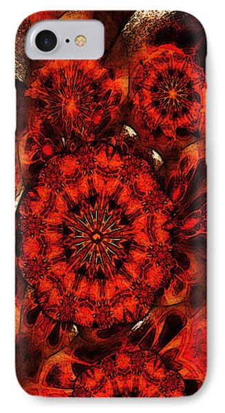 Quiet Intensity IPhone Case by Ray Tapajna