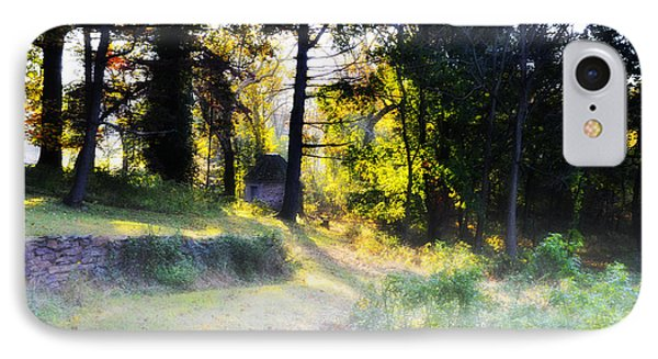 Quiet Morning In The Woods Phone Case by Bill Cannon