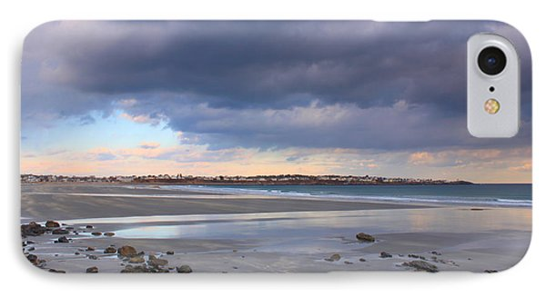 Quiet Winter Day At York Beach Phone Case by John Burk