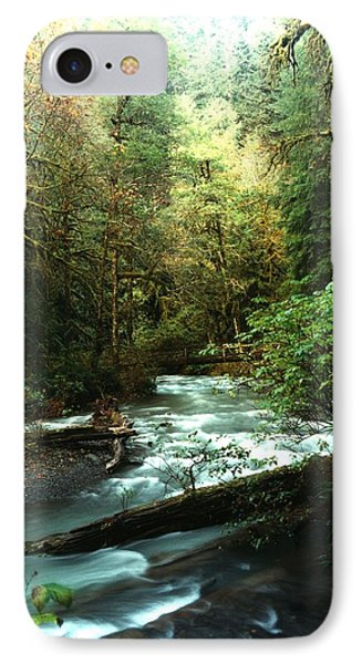 IPhone Case featuring the photograph Quineault Rain Forest by Rick Frost