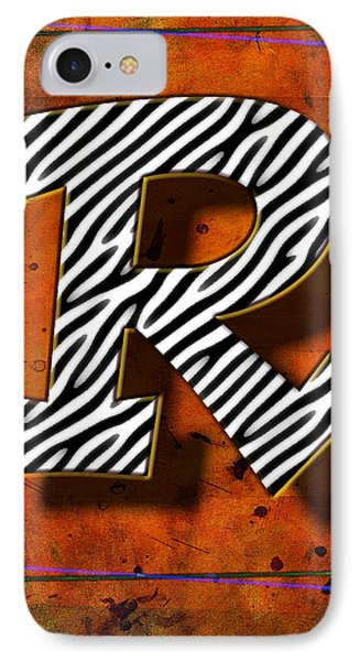 R IPhone Case by Mauro Celotti