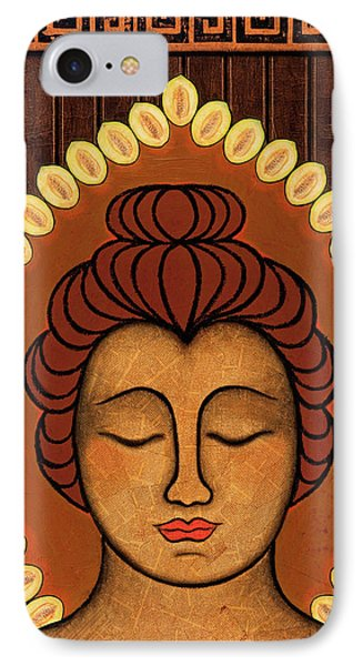 IPhone Case featuring the painting Radiant Peace by Gloria Rothrock
