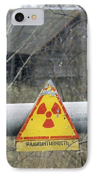 Radiation Warning Sign, Belarus Phone Case by Ria Novosti