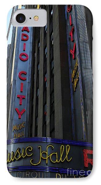 Radio City Music Hall Cirque Du Soleil Phone Case by Lee Dos Santos