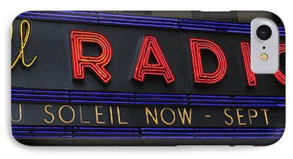 Radio City Music Hall Cirque Du Soleil Zarkana II Phone Case by Lee Dos Santos
