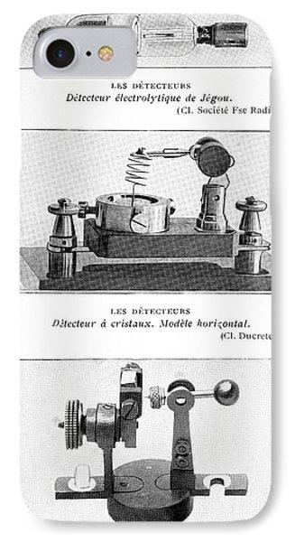 Radio Receiver Components, 1914 IPhone Case