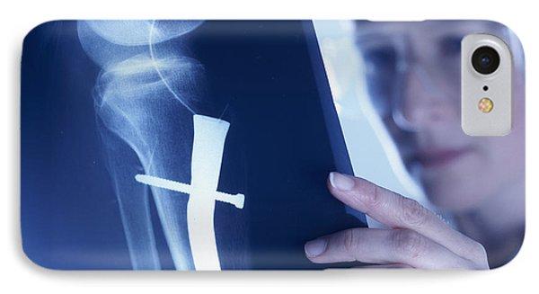 Radiologist Phone Case by Tek Image